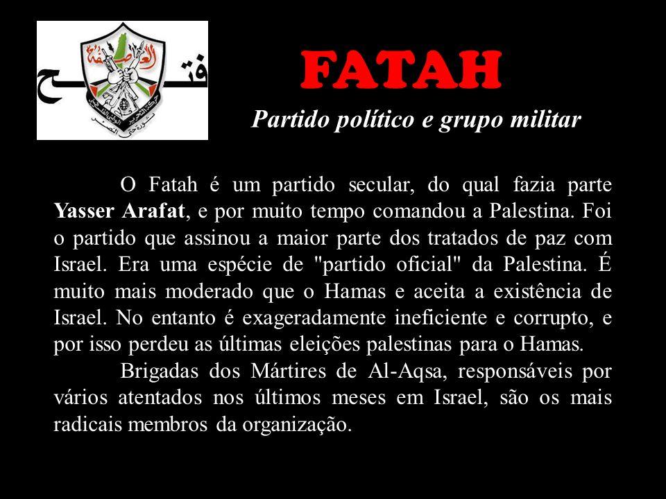 FATAH Partido político e grupo militar