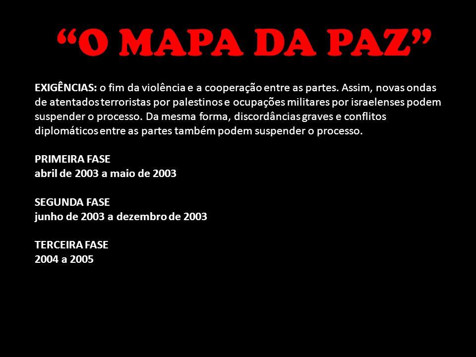 O MAPA DA PAZ