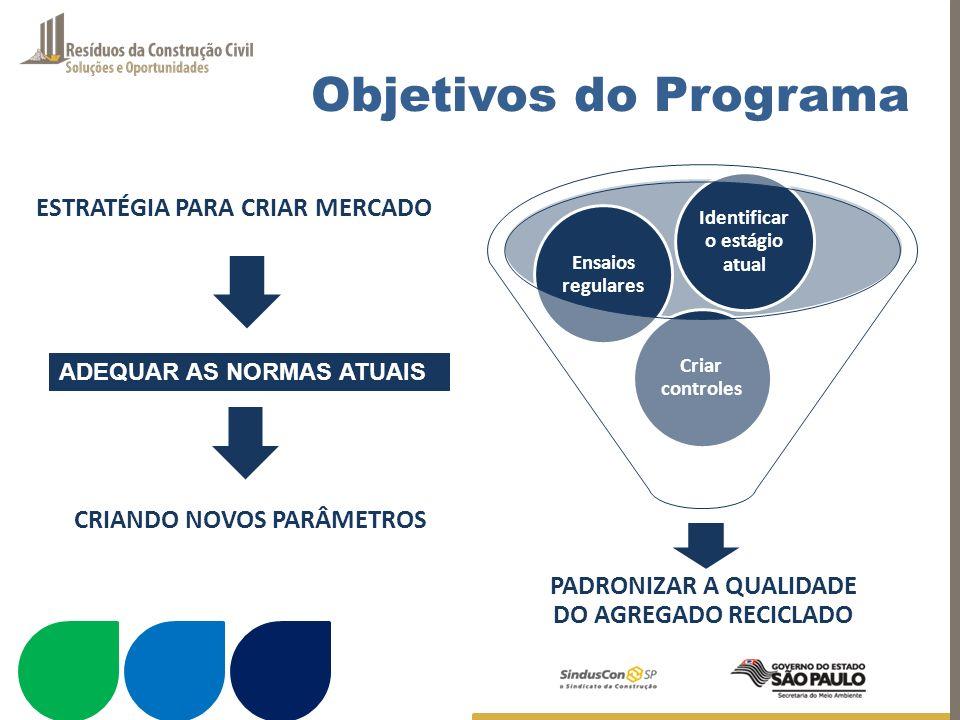 Objetivos do Programa ESTRATÉGIA PARA CRIAR MERCADO