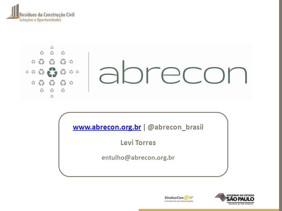 www.abrecon.org.br | @abrecon_brasil