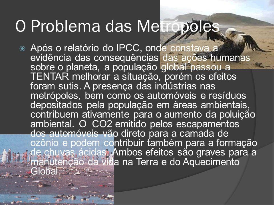 O Problema das Metrópoles