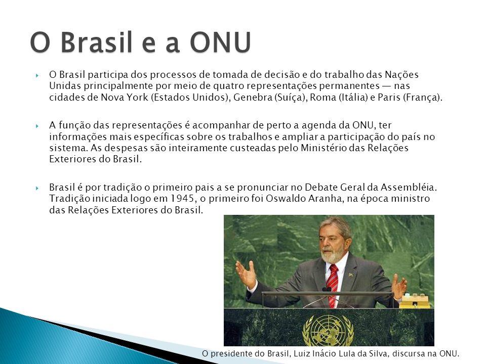 O Brasil e a ONU