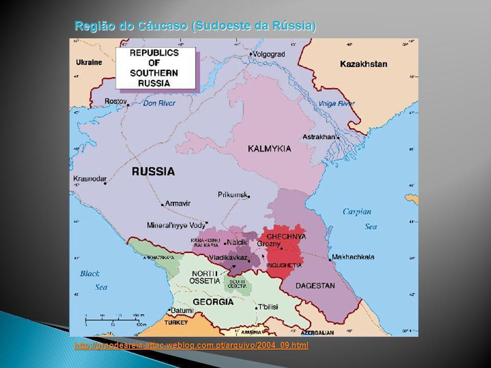 Região do Cáucaso (Sudoeste da Rússia)