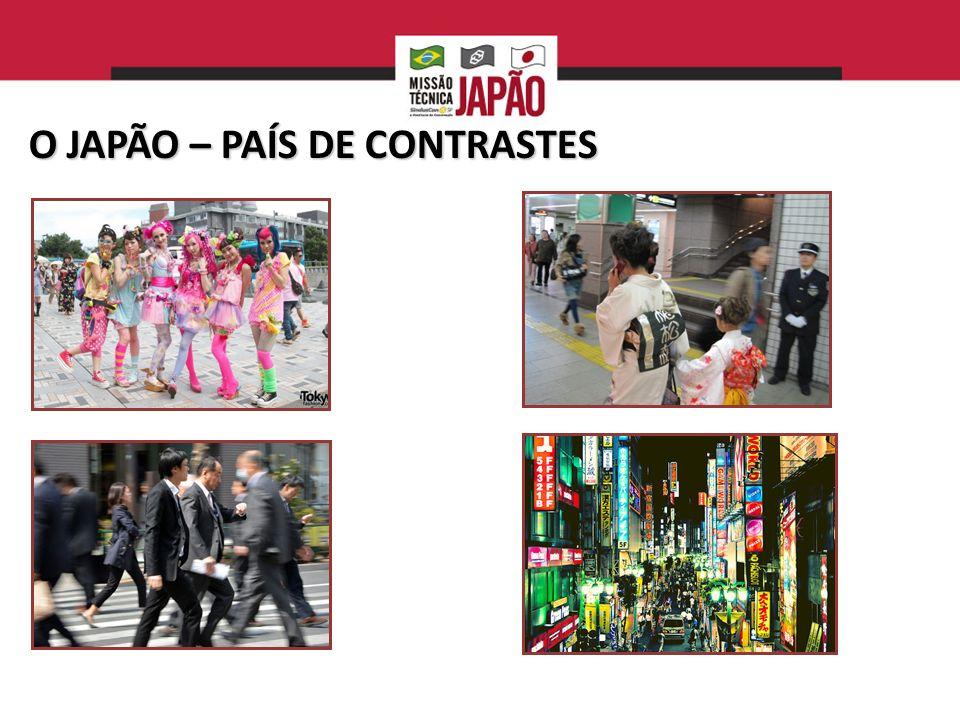 O JAPÃO – PAÍS DE CONTRASTES