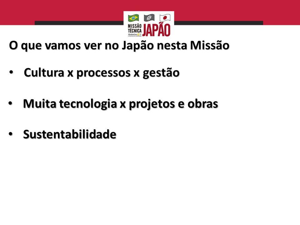 O que vamos ver no Japão nesta Missão