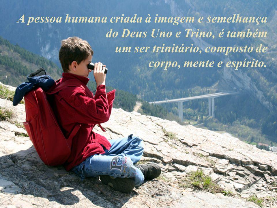 A pessoa humana criada à imagem e semelhança