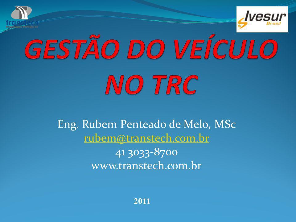 GESTÃO DO VEÍCULO NO TRC