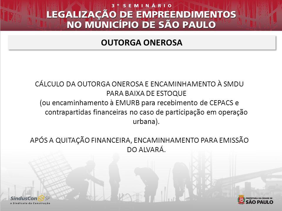 APÓS A QUITAÇÃO FINANCEIRA, ENCAMINHAMENTO PARA EMISSÃO DO ALVARÁ.