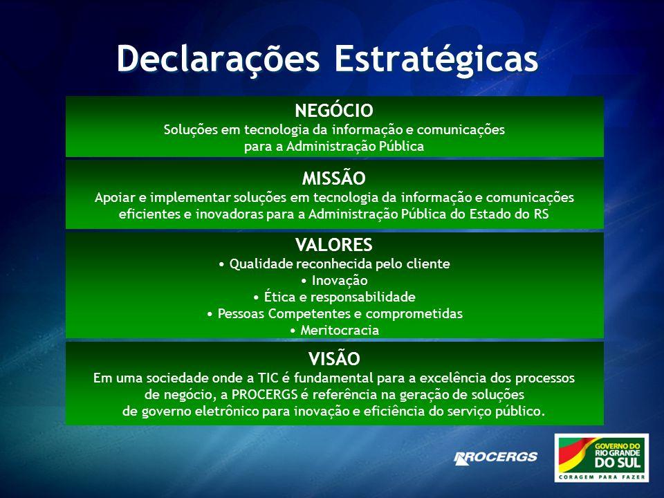 Declarações Estratégicas