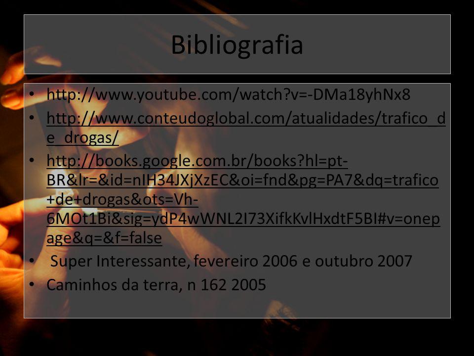 Bibliografia http://www.youtube.com/watch v=-DMa18yhNx8
