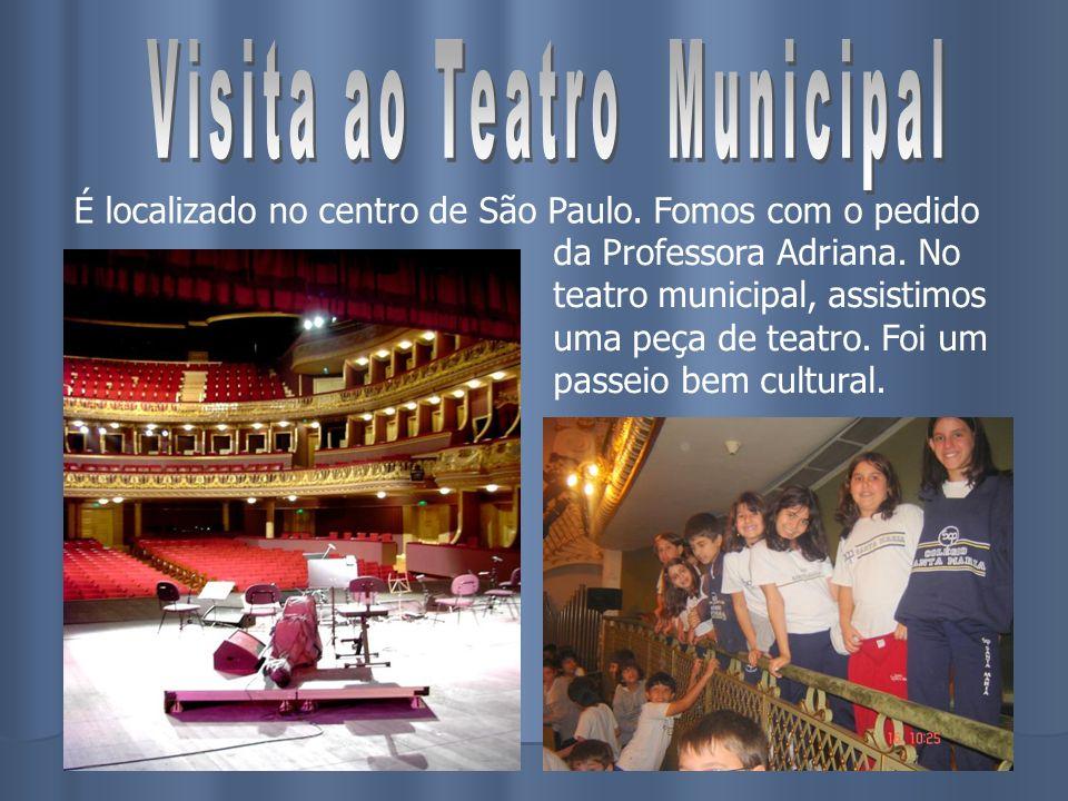 Visita ao Teatro Municipal