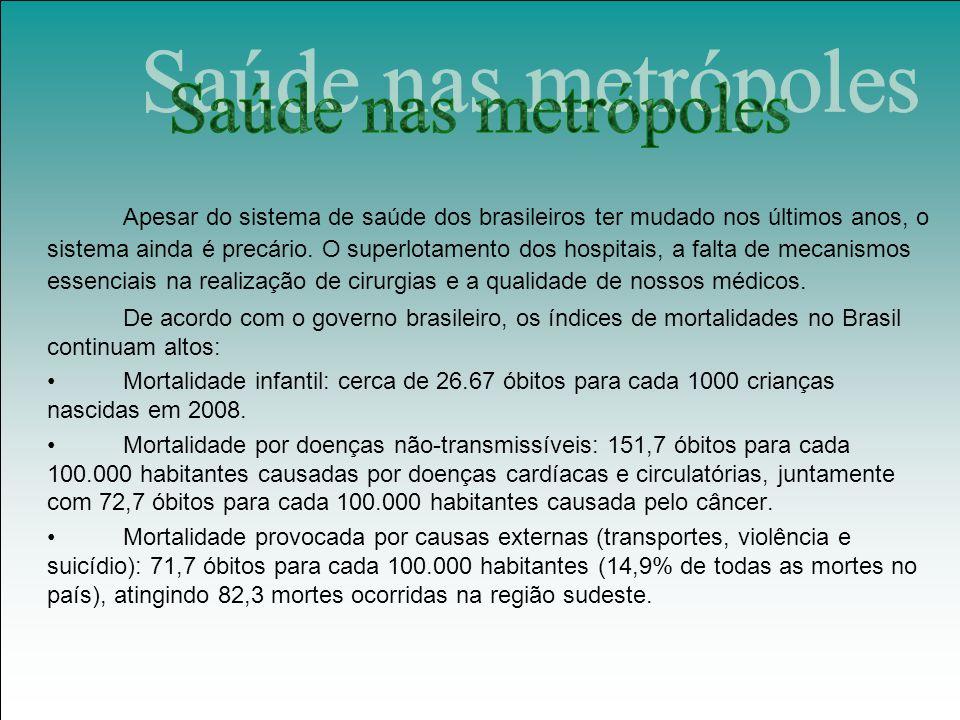 Saúde nas metrópoles