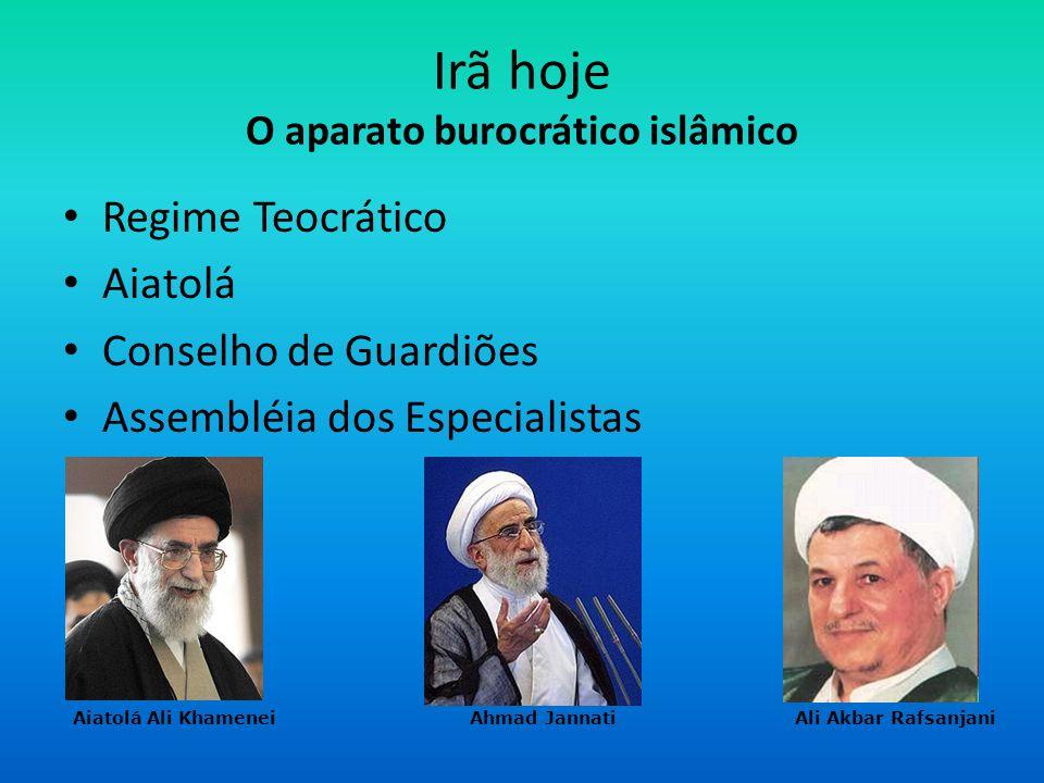 Irã hoje O aparato burocrático islâmico