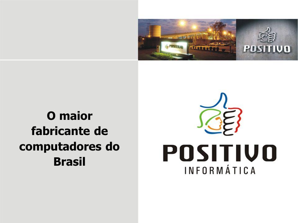 O maior fabricante de computadores do Brasil