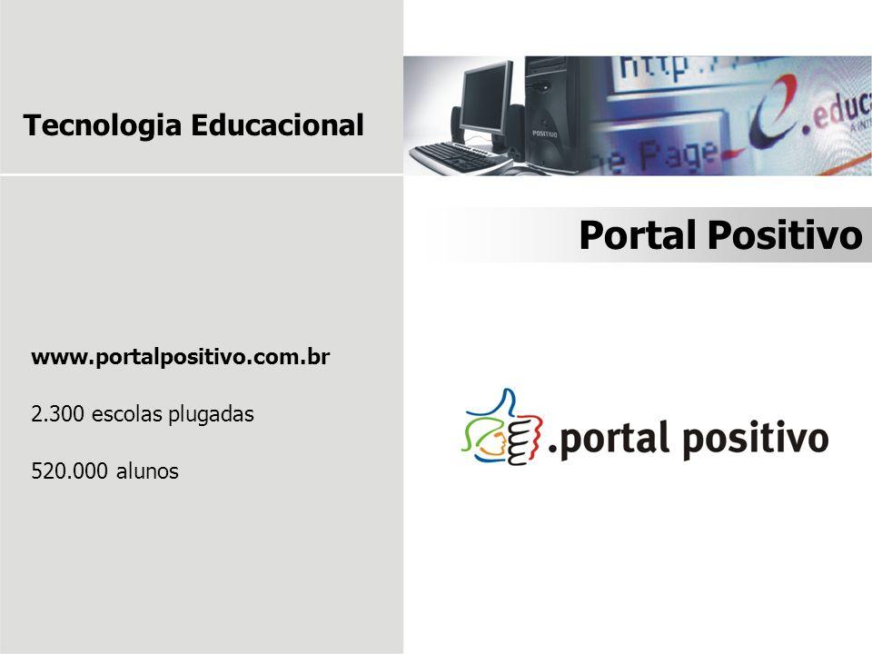 Portal Positivo Tecnologia Educacional www.portalpositivo.com.br