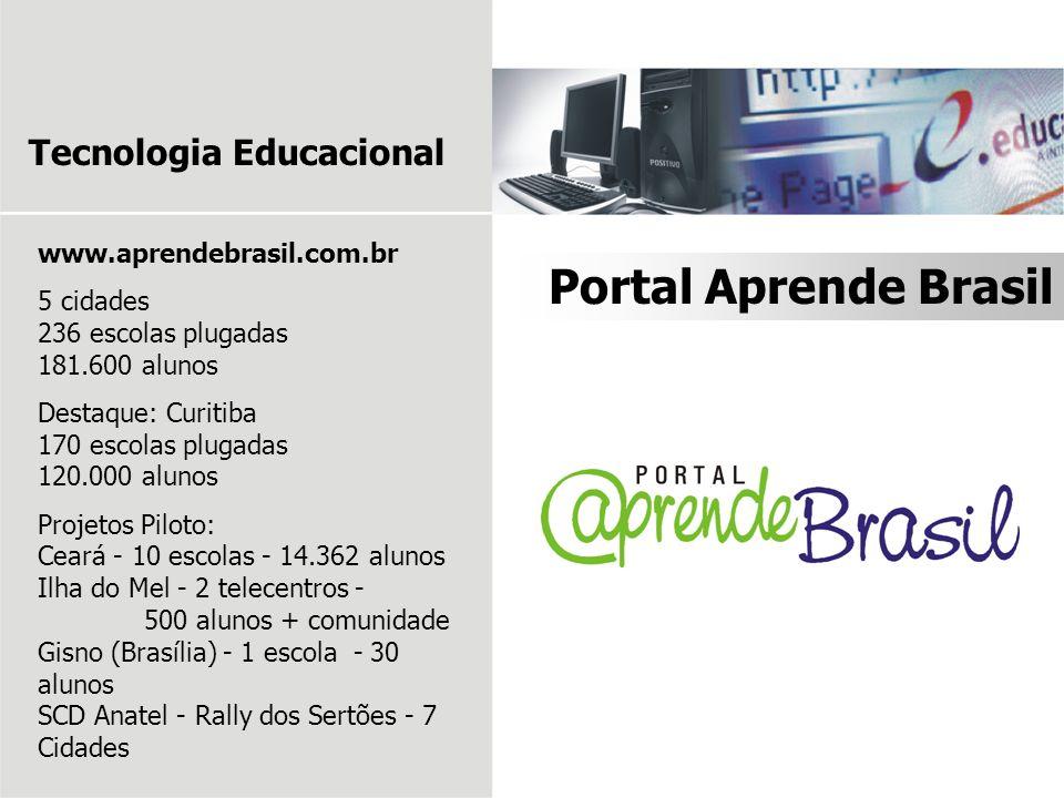 Portal Aprende Brasil Tecnologia Educacional www.aprendebrasil.com.br