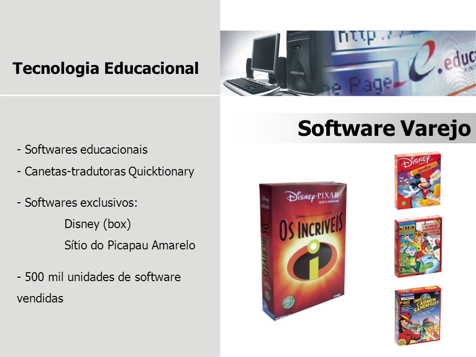 Software Varejo Tecnologia Educacional