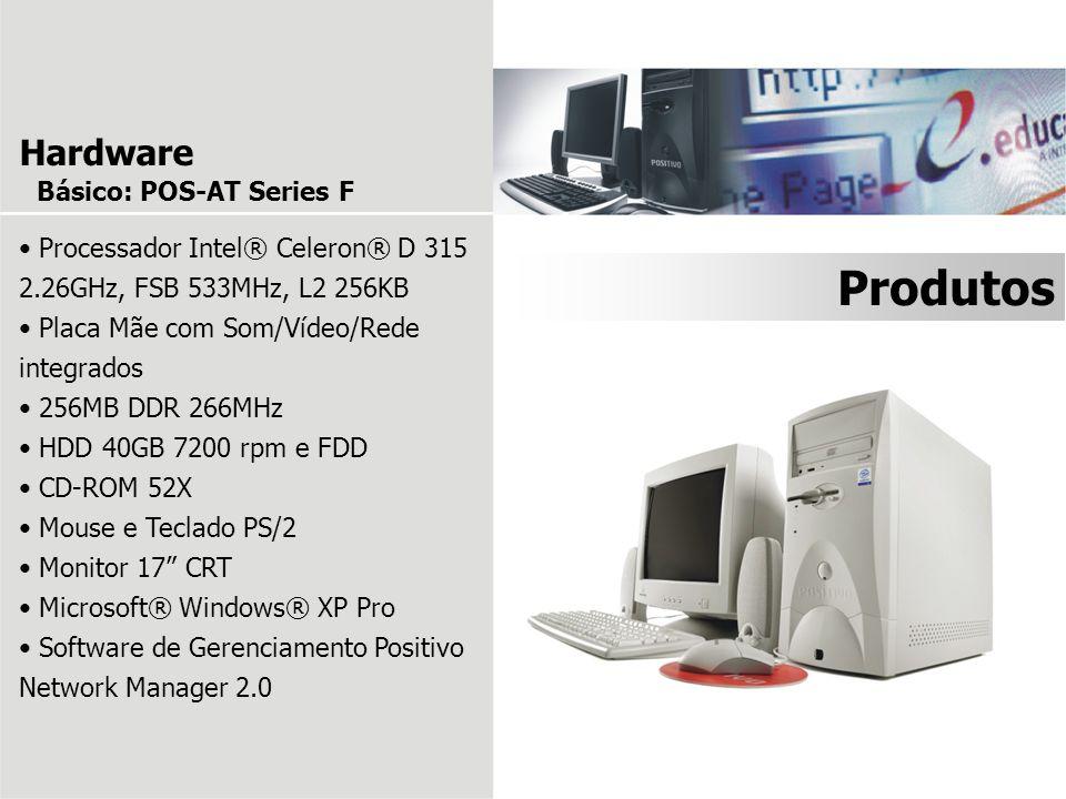 Produtos Hardware Básico: POS-AT Series F