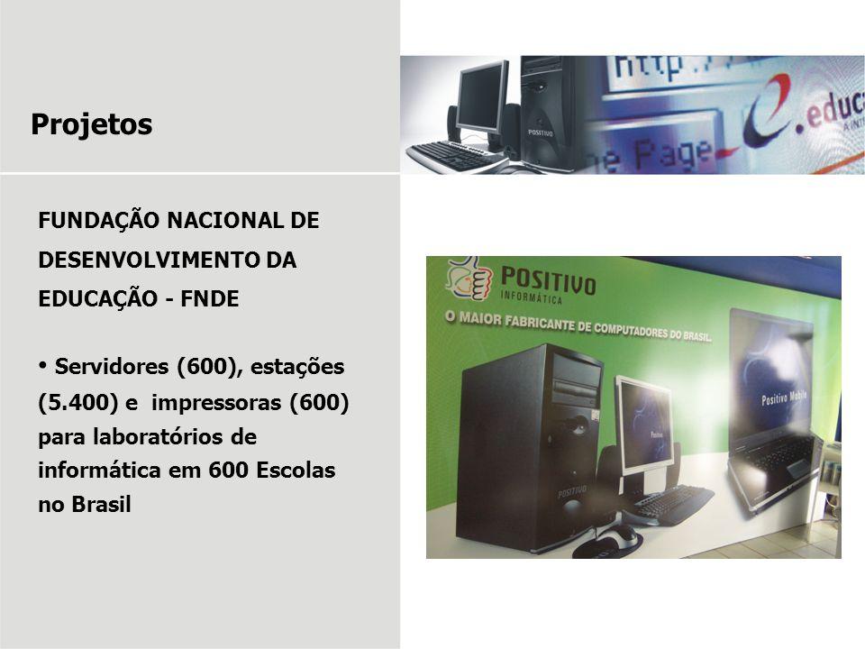 Projetos FUNDAÇÃO NACIONAL DE DESENVOLVIMENTO DA EDUCAÇÃO - FNDE.