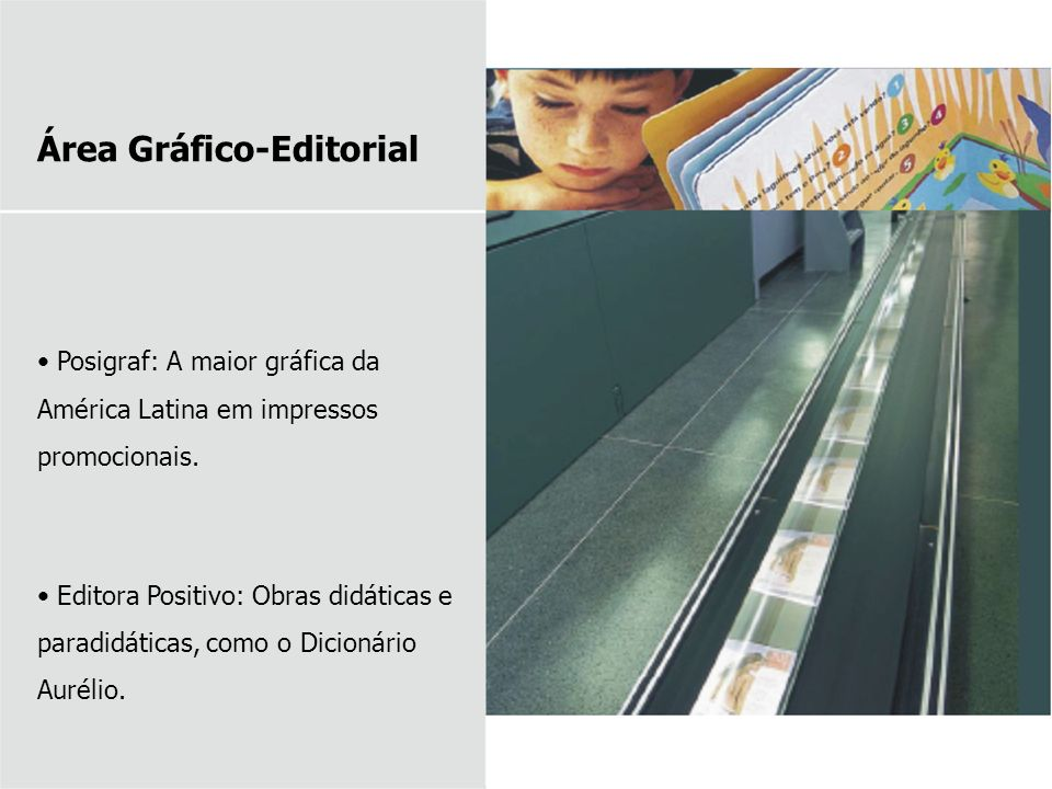 Área Gráfico-Editorial