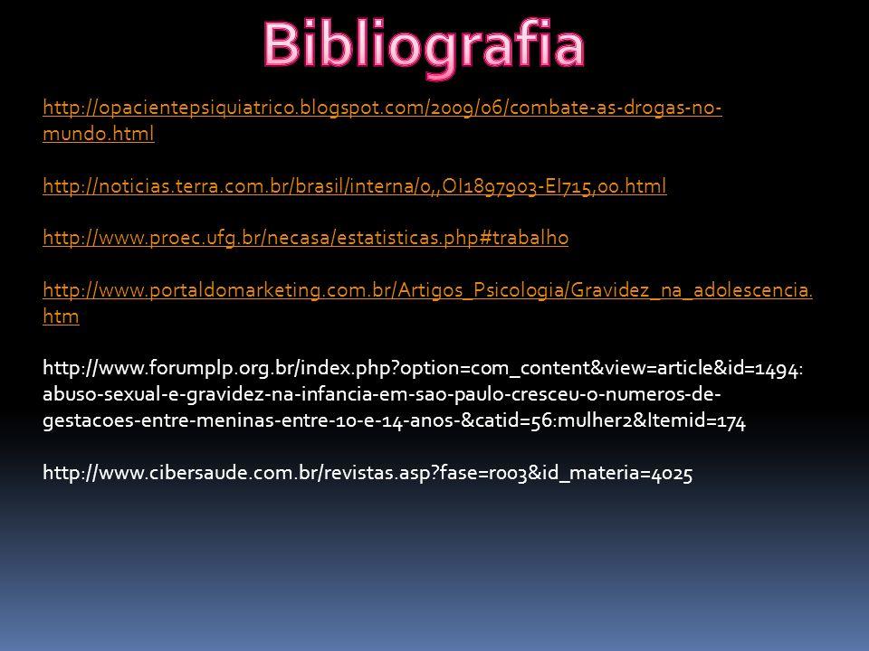 Bibliografia http://opacientepsiquiatrico.blogspot.com/2009/06/combate-as-drogas-no-mundo.html.