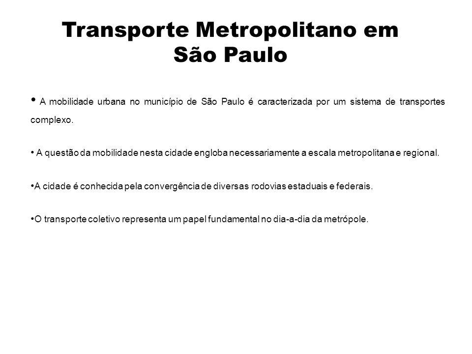 Transporte Metropolitano em São Paulo