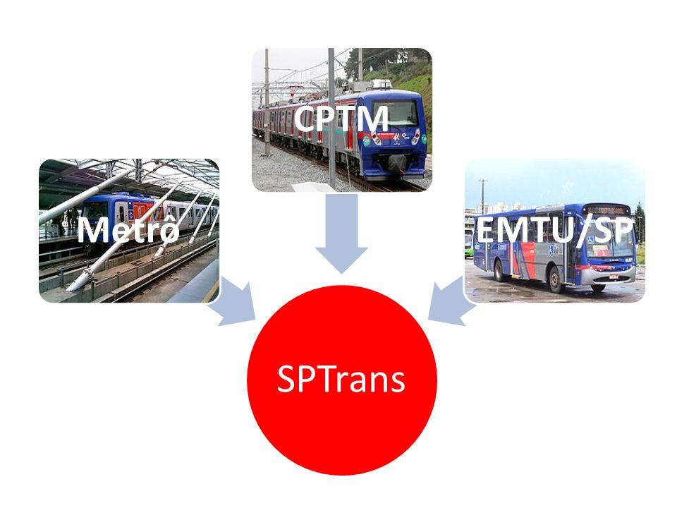 SPTrans Metrô CPTM EMTU/SP