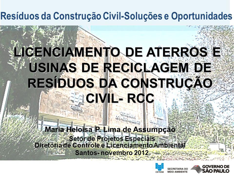 Resíduos da Construção Civil-Soluções e Oportunidades