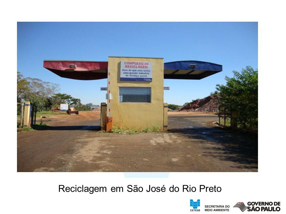 Reciclagem em São José do Rio Preto