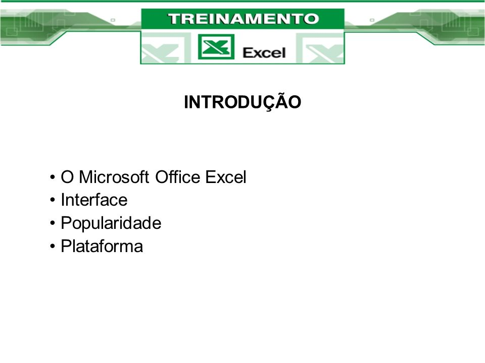 O Microsoft Office Excel Interface Popularidade Plataforma