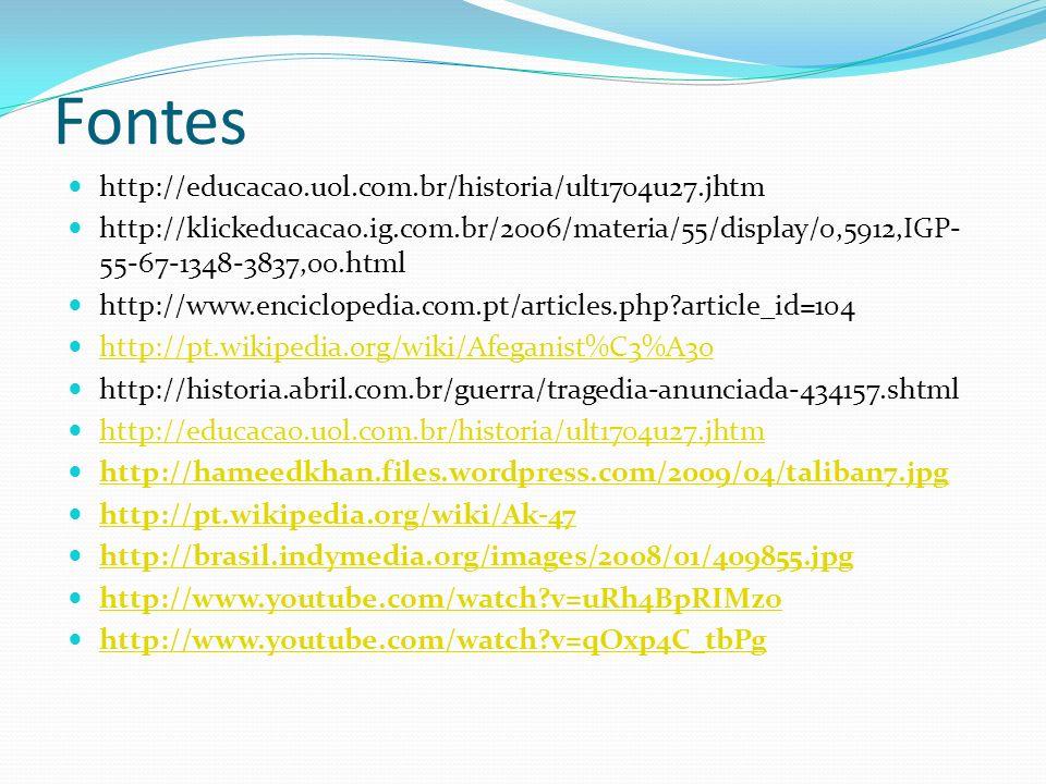 Fontes http://educacao.uol.com.br/historia/ult1704u27.jhtm