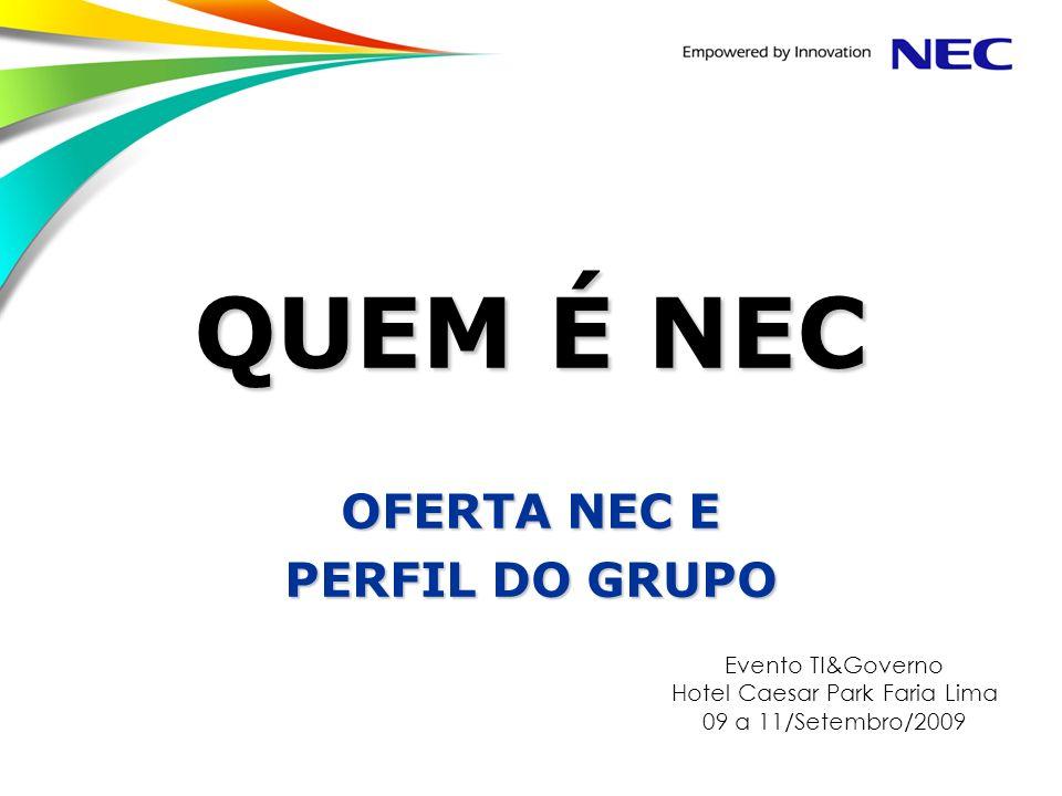 OFERTA NEC E PERFIL DO GRUPO