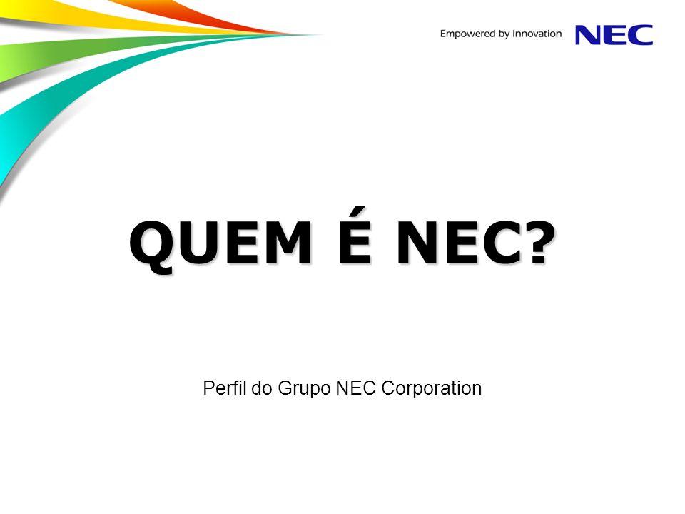 Perfil do Grupo NEC Corporation
