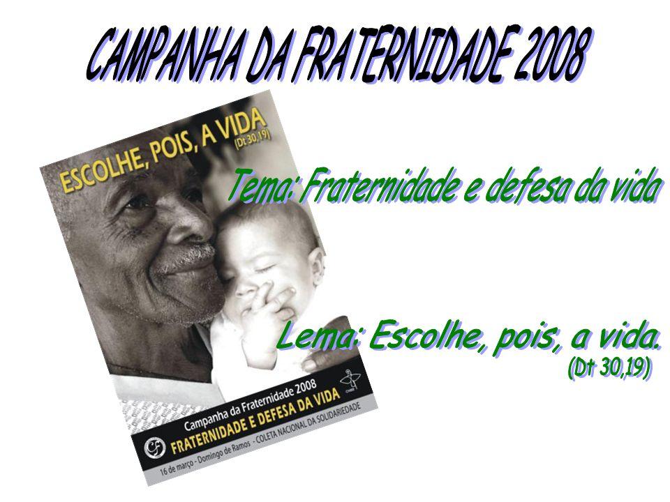 CAMPANHA DA FRATERNIDADE 2008