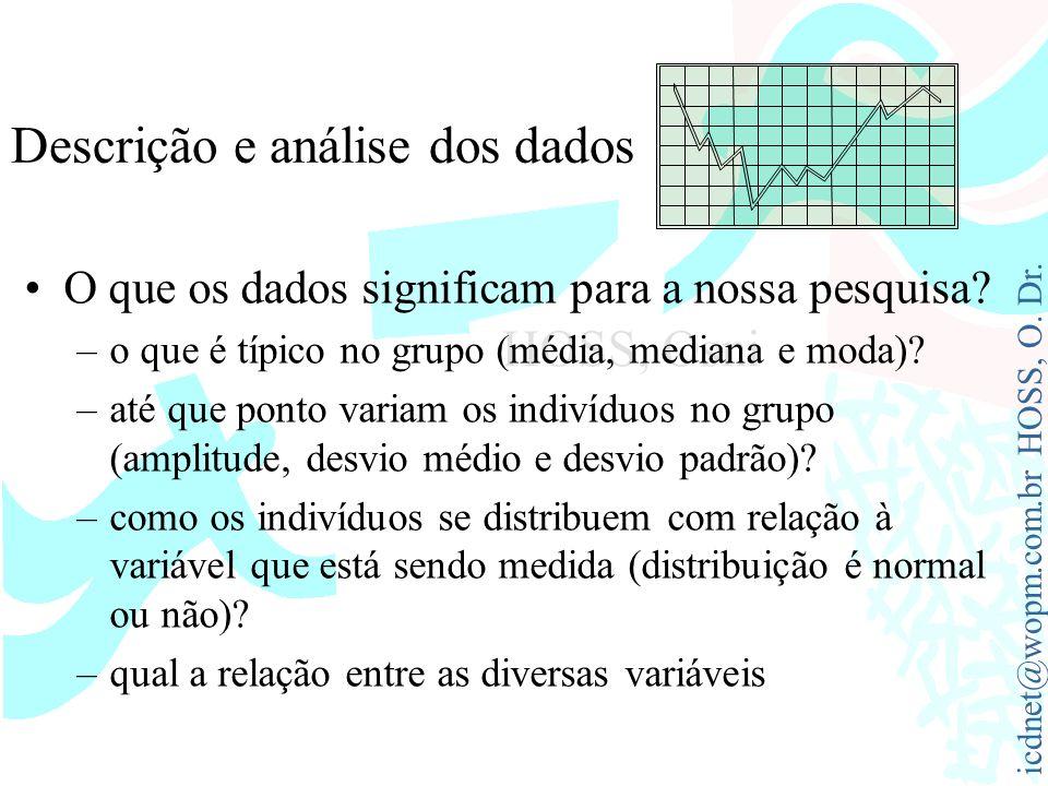 Descrição e análise dos dados