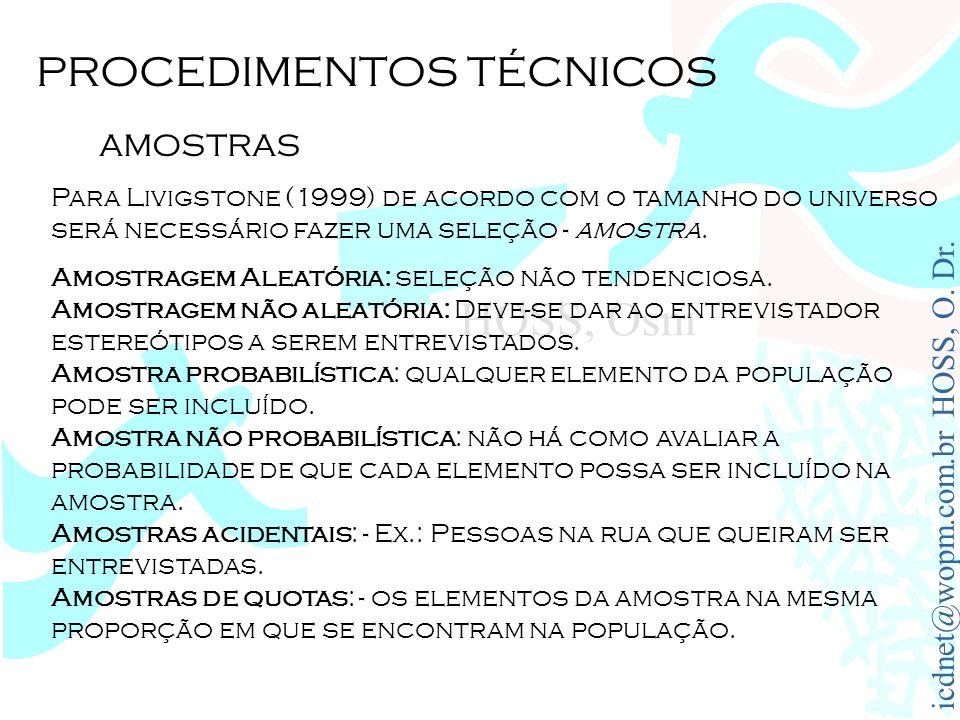 PROCEDIMENTOS TÉCNICOS