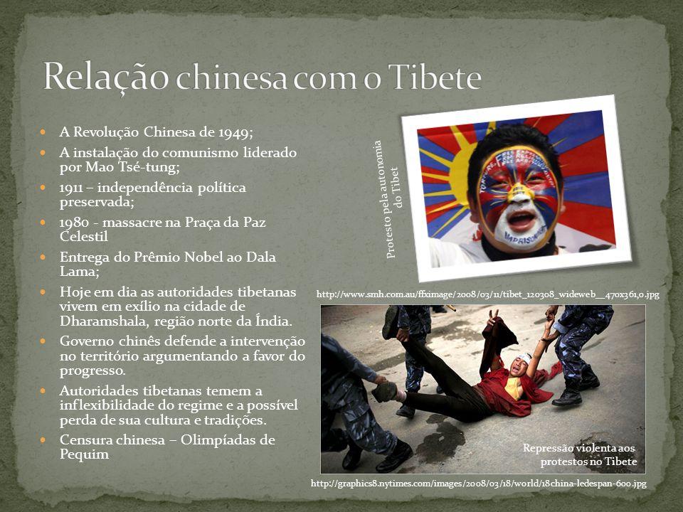 Relação chinesa com o Tibete