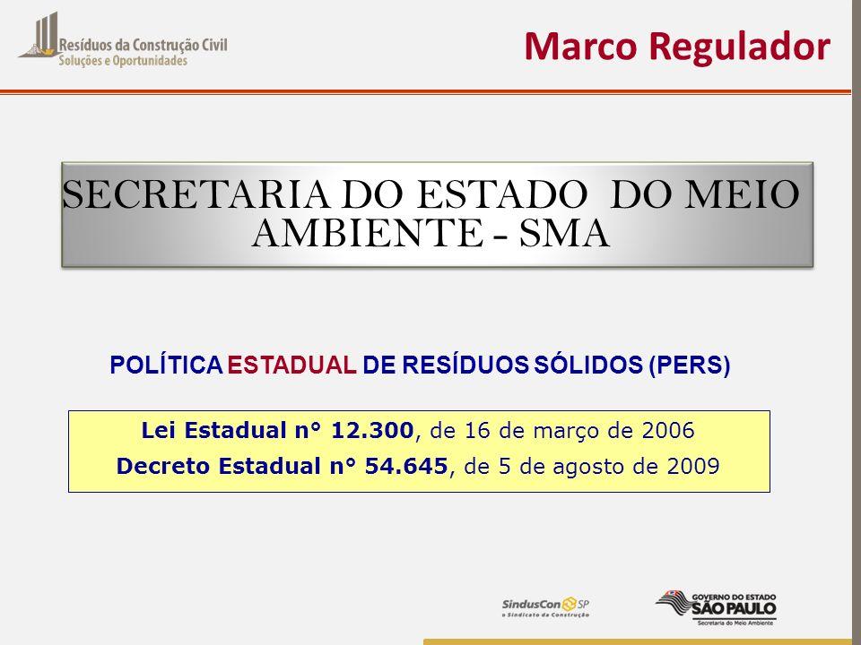 POLÍTICA ESTADUAL DE RESÍDUOS SÓLIDOS (PERS)
