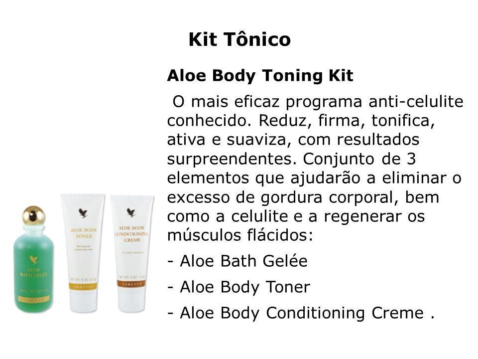 Kit Tônico Aloe Body Toning Kit