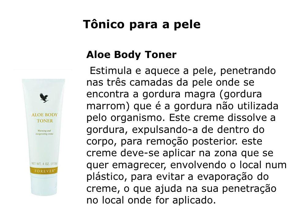 Tônico para a pele Aloe Body Toner