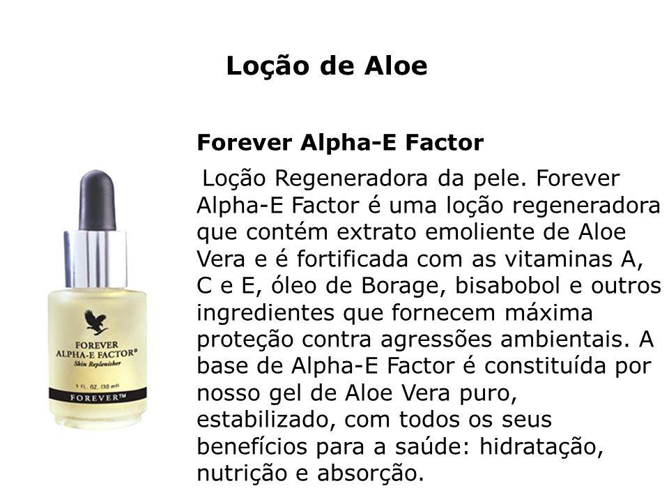 Loção de Aloe Forever Alpha-E Factor