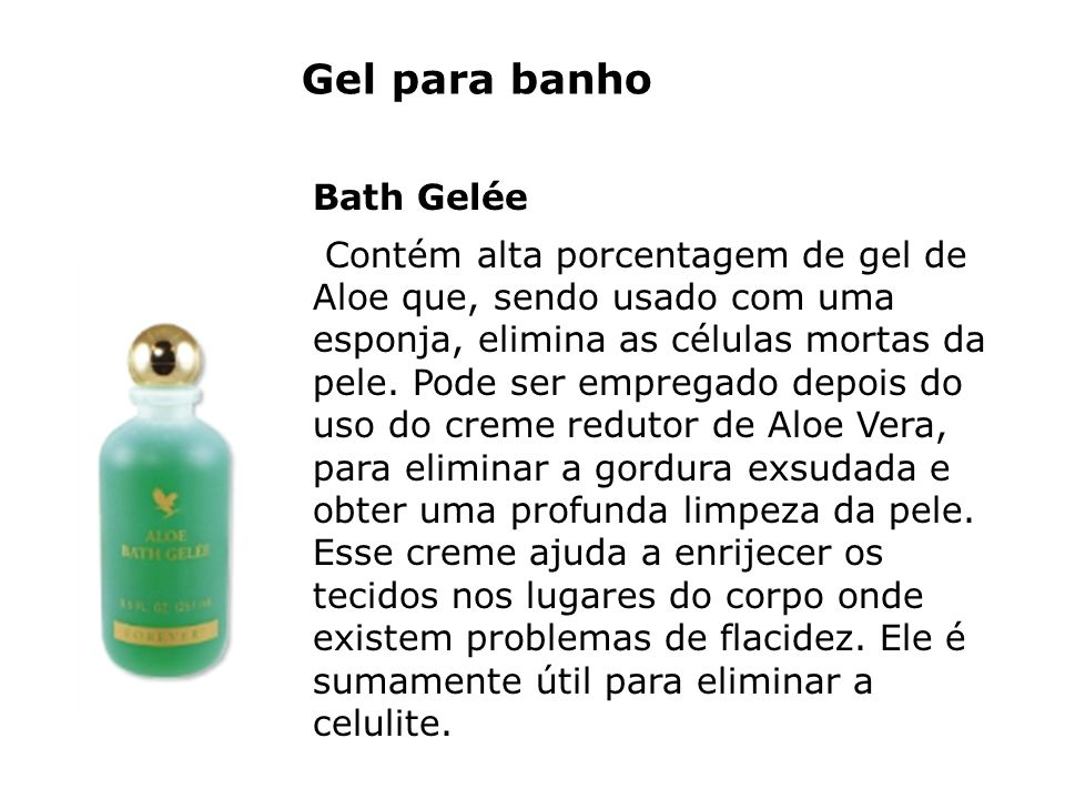 Gel para banho Bath Gelée