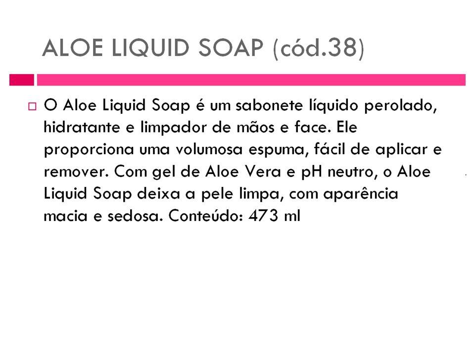 Sabonete líquido Aloe Liquid Soap