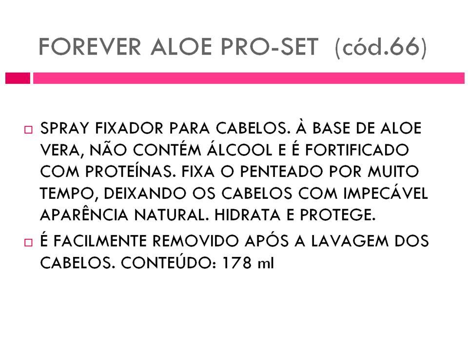 Spray para o cabelo Aloe Pro Set