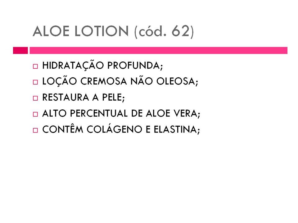 Loção de Aloe Aloe Lotion