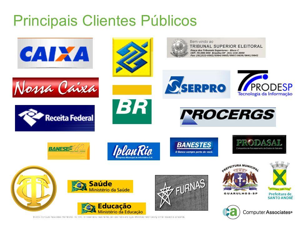 Principais Clientes Públicos