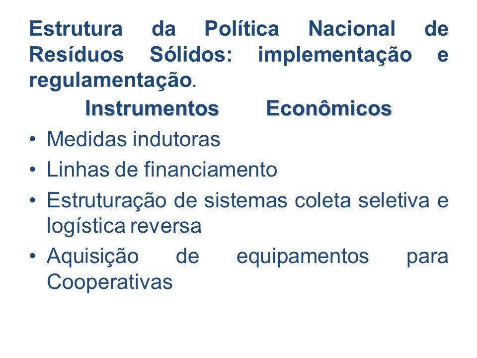 Instrumentos Econômicos