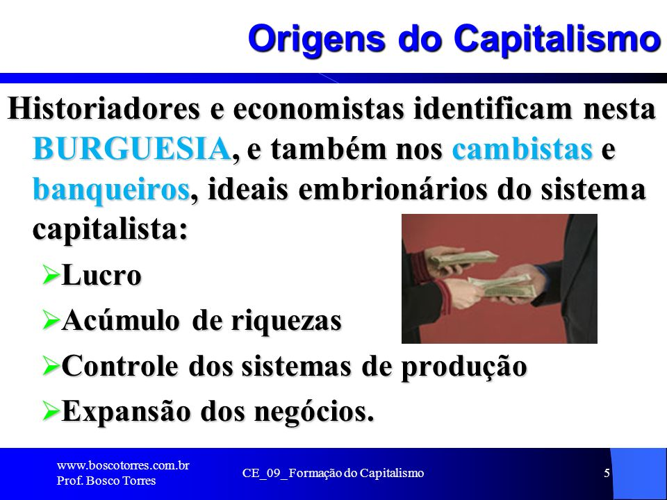 Origens do Capitalismo