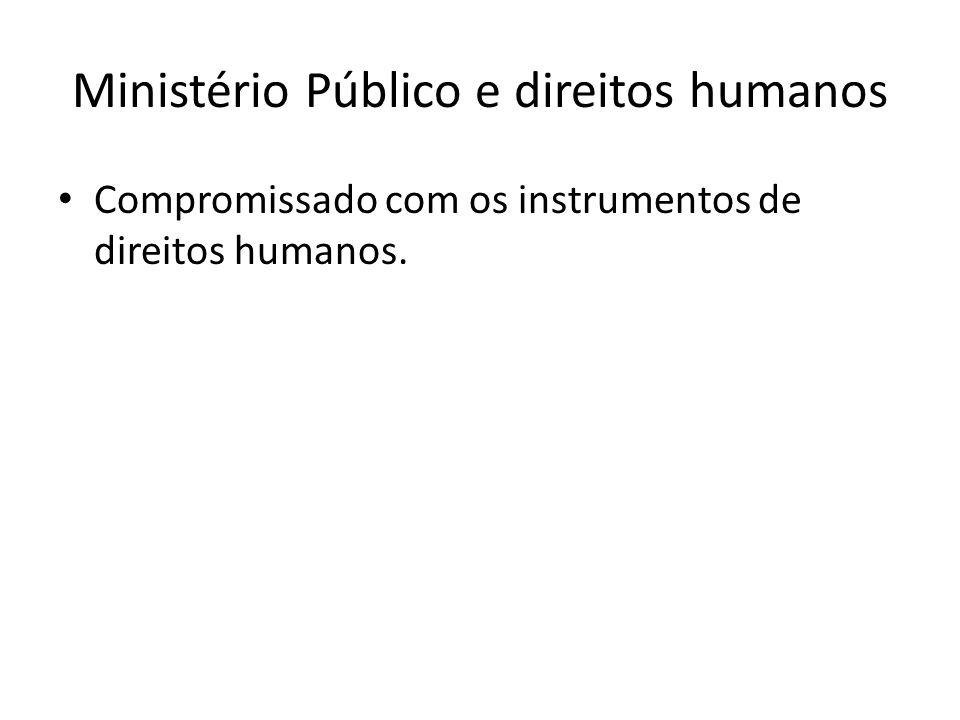 Ministério Público e direitos humanos