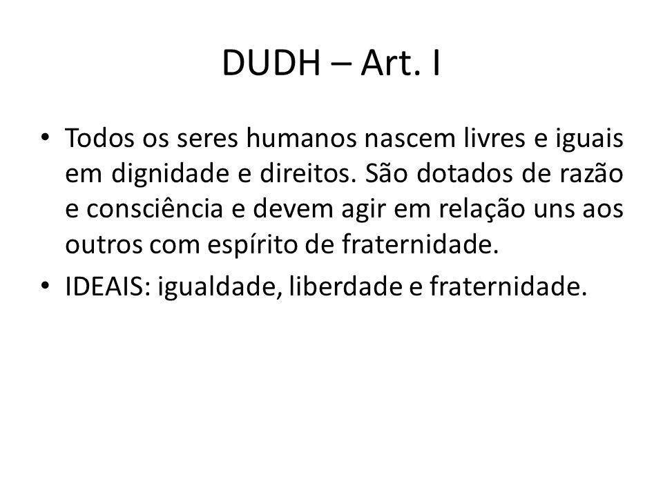 DUDH – Art. I